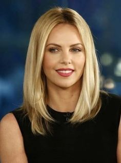 Enchanting Long Straight Blonde Lace Front Human Hair Wig 12 Inches