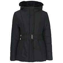 Buy French Connection Whistler Long Sleeve Hooded Jacket, Black Online at johnlewis.com