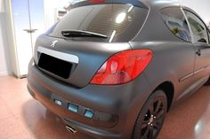 CAR WRAPPING PEUGEOT 207  NERO OPACO