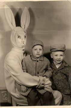 Happy Easter Y'all!.... 24 Creepy Easter Bunnies!