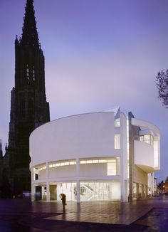 Exhibition: Picture, Tower, Building – Richard Meier and the Ulm Minster