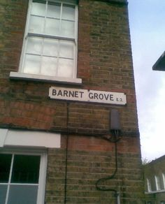 Barnet Grove E2 streetname from parishregister