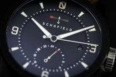 Schofield Signalman DLC   Strap Kit   Watch Wallet Review