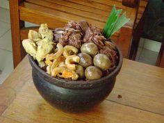 Gudeg Indonesian Cuisine, Asian Recipes, Stuffed Mushrooms, Beans, Vegetables, Rice, Google Search, Stuff Mushrooms, Indonesian Food