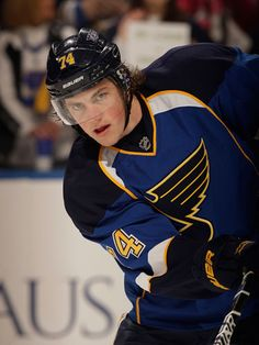 "T.J. Oshie, St. Louis Blues (Cosmo commentary: ""T.J. can stare at us like that all day."")"
