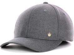 16a16354ecfa No Bad Ideas NBI Solid Textured Flex-Fit Cap Hats Fitted Caps