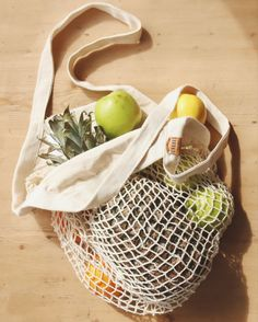 The new 'bag for life' 100% organic cotton, completely plastic free + it fits loads of veggies in! Grocery Bags, New Bag, Purses And Bags, Organic Cotton, Veggies, Plastic, Free, Vegetable Recipes, Vegetables