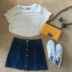 Torn by Rony kobo white knit crop top Worn once. In like new condition Torn by Ronny Kobo Tops Crop Tops
