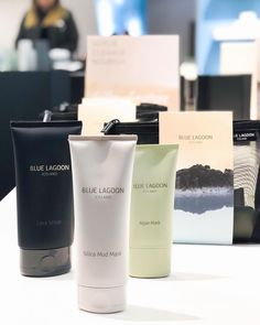 Our signature masks, ready to order yours?  www.bluelagoon.com/shop #BlueLagoonSkincare #BlueLagoon #Iceland