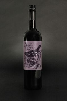 """An elegant Italian wine for Grapedistrict - an innovative wine retailer in The Netherlands."" PD"