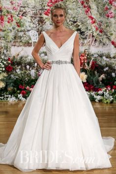 2e050e4a684  BRIDES has posted runway images from our Rebecca Ingram Bridal  amp   Wedding Dresses Spring