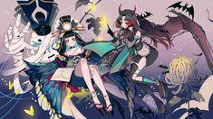 Onmyoji Game, Game Art, Manga Art, Manga Anime, Character Art, Character Design, Pixiv Fantasia, Anime Kimono, My Fantasy World
