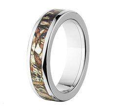 Mossy Oak Wedding Bands   Satilla Camo Ring