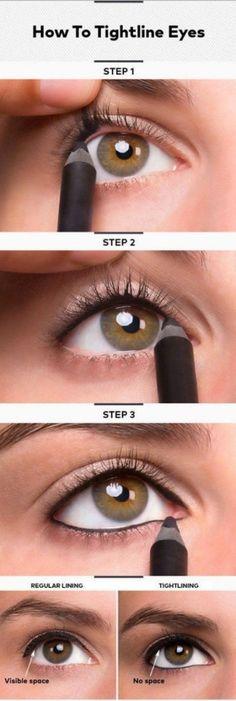 How to Tightline Eyes | Best Makeup Tutorials