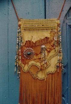 Golden Pocket bag by Carole Hook.