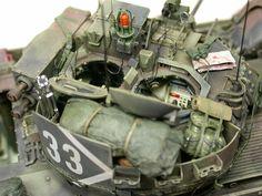 M2A2 Bradley 1/35 Scale Model