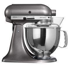 KitchenAid Artisan 5KSM150PSEMS - Keukenmachine - Tingrijs