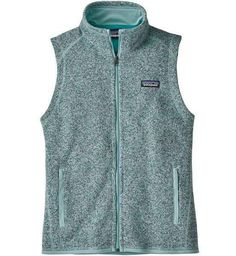 Patagonia Better Sweater Vest, Patagonia Vest, Argyle Sweater Vest, Fleece Vest, Cool Sweaters, How To Dye Fabric, How To Roll Sleeves, Timeless Fashion, Blue