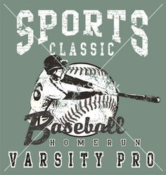 Baseball pro vector
