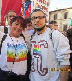 .. lo vedi in ogni sguardo...MILLE Fabrizi in marcia con noi!  http://www.fabriziocatalano.it/19-ottobre-2014-assoc-cercando-fabrizio-e-marciando-per-la-pace-perugia-assisi/