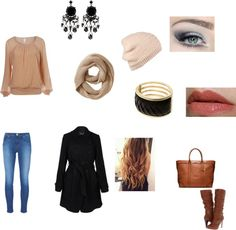 """""""Winter Outfit"""" by sameera302101 ❤ liked on Polyvore"""