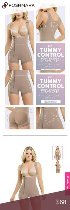 Body Ultra Silueta Tummy Control bodyshaper 436 This is the body shaper that will make your midsection go from ?problem area? to ?favorite body part? in an instant! It?s fit to say in an instant, because the flat zipper, reinforced by internal hooks, makes the garment easy to get into. And the transformation begins!  The Tummy Control Body Shaper offers full-back support, a natural looking butt-lift, and adjustable bust support, with wide straps that take the pressure off of your shoulders…
