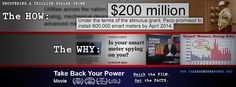 Take Back Your Power: Investigating The *Smart* Grid - http://www.takebackyourpower.net/