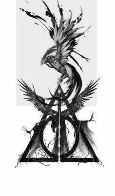 Drawing harry potter phoenix ideas for 2019 - phoenix tattoo Images Harry Potter, Arte Do Harry Potter, Harry Potter Drawings, Harry Potter Tattoos, Harry Potter Fandom, Small Tattoos Men, Tattoo Small, Cool Little Tattoos, Phoenix Harry Potter
