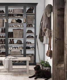 How to add a utility room is part of Hallway shoe storage - A utility room is key for keeping appliances and laundry separate from openplan living spaces Here's how to create one, whatever space you have available Boot Room Utility, Hallway Shoe Storage, Boot Room Storage, Utility Room Storage, Diy Home Decor, Room Decor, Home Renovation, Space Saving, Shelving