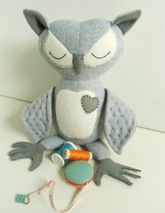 Owl Kids Toys Toys Stuffed Toys Plush Toys by 2dancingdogs