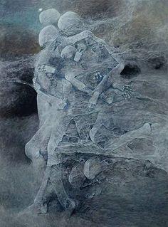 Zdzislaw Beksinski - Polish artist 1929-2005
