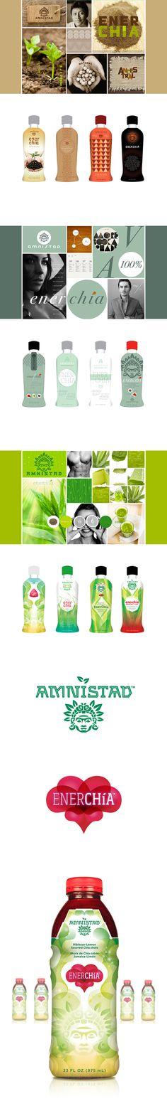 Enerchia Chia Drink by UNO Branding , via Behance Web Design, Design Art, Logo Design, Graphic Design, Beverage Packaging, Packaging Ideas, Brand Packaging, Brand Identity Design, Brand Design