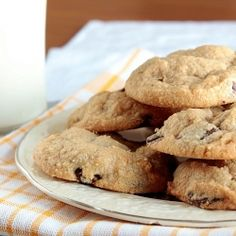 Once you try one of these Peanut Butter Chocolate Chip Cookies, you'll wish you had made a double batch.