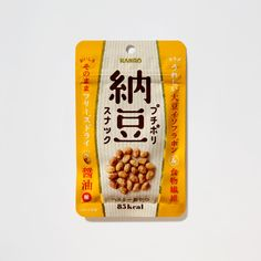 プチポリ納豆スナック(2017) お菓子のパッケージ