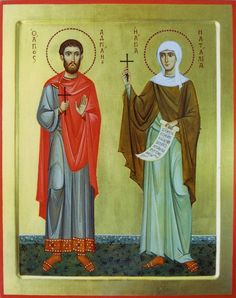 Sts Adrian & Natalia of Nicomedia /