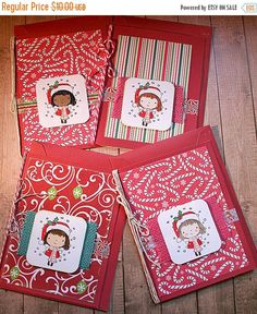 Christmas in July! by Nicole Fischer on Etsy
