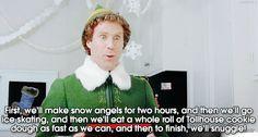 HAhahaha yes! I'm just a lil kid at heart. I Love buddy the elf!!!!!!!