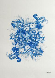 Pencil drawings & blue prints on Behance