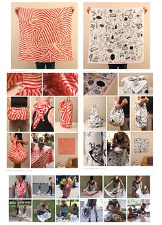 TO be the furoshiki master i need huge scarves. Japanese Gifts, Japanese Bag, Furoshiki Wrapping, Gift Wrapping, Diy Projects To Try, Sewing Projects, Craft Bags, How To Dye Fabric, Crafty Craft