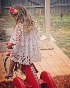 White Dress Boho flower girl Dress Easter Dress sleeve dress Toddler Dresses Lace Dress Bohemian wedding boho Dress white Christening Dress by BohoBloomers on Etsy https://www.etsy.com/listing/258403855/white-dress-boho-flower-girl-dress