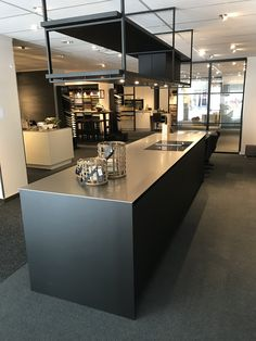 www.loomanskeukens.nl Luxury Kitchen Design, Contemporary Kitchen Design, Loft Kitchen, Dream Studio, Wave Design, Home Decor Furniture, Kitchen Cabinets, House Design, Dining