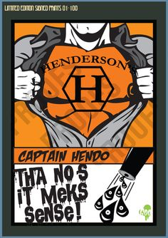 Captain Hendo - Limited Edition Print 01 - 100 – Goo Design