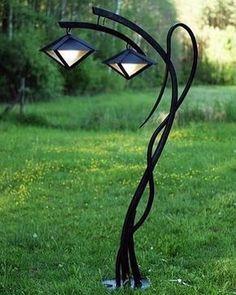 Garden Lanterns, Garden Lamps, Garden Lamp Post, Landscape Lighting, Outdoor Lighting, Outdoor Lantern, Lighting Ideas, Outdoor Lamps, Unique Lighting