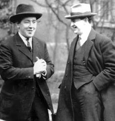 Important leaders in the IRA leadership: Harry Boland and Michael Collins. They were best friends, rivals in love as well as politics.