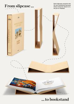 Taschen | National Geographic | Around the World in 125 years | from slipcase to bookstand