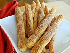 84 cal baked churros -- again skeptical, but i had a costco churro yesterday & now i can't think about anything else...