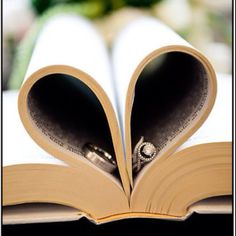 Cute idea... Godly marrige... rings in the Bible