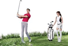 34 best Golf  range  images on Pinterest   Golf range  Ranges and     Daniel Henney and Kim Sa Rang hit the golf range together for  W Angle