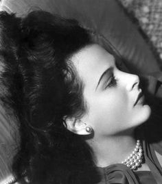 Hedy Lamarr by Clarence Sinclair Bull