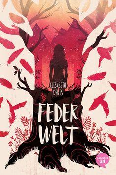 Feder Welt Book Cover by Natalie Dombois